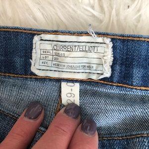 Current/Elliott Jeans - Current Elliott the stiletto destroyed skinny jean